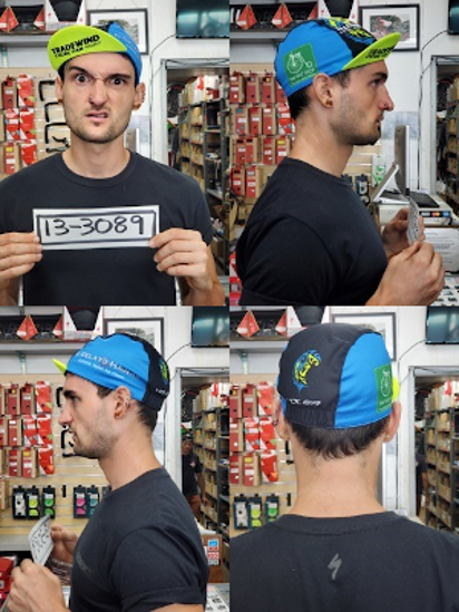 Picture of Tradewind Cycling Team Cap - Multi-colored with FREE shipping